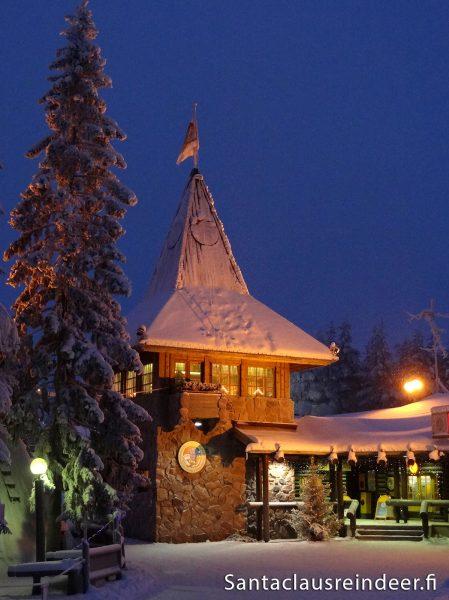 Paesaggio Di Babbo Natale.Ufficio Postale Centrale Di Babbo Natale Nel Villaggio Di Babbo